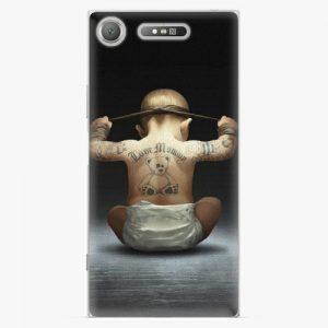 Plastový kryt iSaprio - Crazy Baby - Sony Xperia XZ1