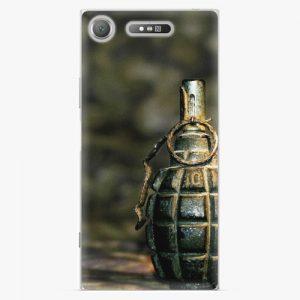 Plastový kryt iSaprio - Grenade - Sony Xperia XZ1