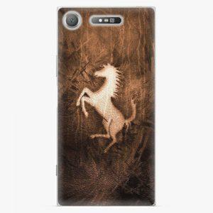 Plastový kryt iSaprio - Vintage Horse - Sony Xperia XZ1