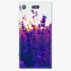 Plastový kryt iSaprio - Lavender Field - Sony Xperia XZ1 Compact