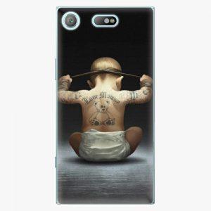 Plastový kryt iSaprio - Crazy Baby - Sony Xperia XZ1 Compact