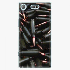 Plastový kryt iSaprio - Black Bullet - Sony Xperia XZ1 Compact