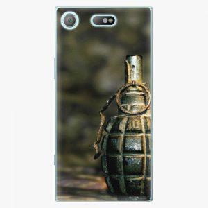 Plastový kryt iSaprio - Grenade - Sony Xperia XZ1 Compact
