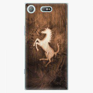 Plastový kryt iSaprio - Vintage Horse - Sony Xperia XZ1 Compact