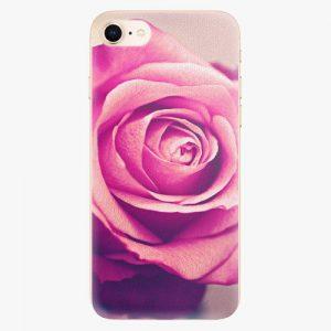 Plastový kryt iSaprio - Pink Rose - iPhone 8