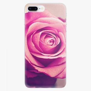Plastový kryt iSaprio - Pink Rose - iPhone 8 Plus