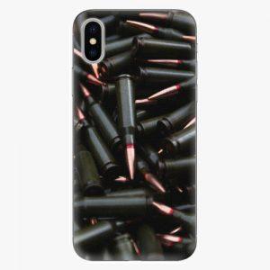 Plastový kryt iSaprio - Black Bullet - iPhone X