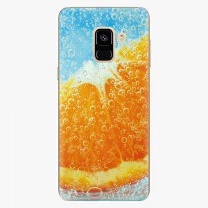 Plastový kryt iSaprio - Orange Water - Samsung Galaxy A8 2018