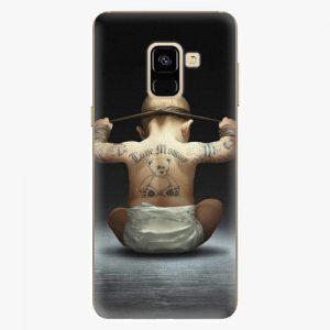 Plastový kryt iSaprio - Crazy Baby - Samsung Galaxy A8 2018