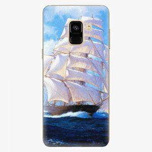 Plastový kryt iSaprio - Sailing Boat - Samsung Galaxy A8 2018