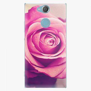 Plastový kryt iSaprio - Pink Rose - Sony Xperia XA2
