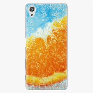 Plastový kryt iSaprio - Orange Water - Sony Xperia X
