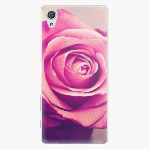 Plastový kryt iSaprio - Pink Rose - Sony Xperia X