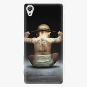 Plastový kryt iSaprio - Crazy Baby - Sony Xperia X