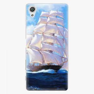 Plastový kryt iSaprio - Sailing Boat - Sony Xperia X