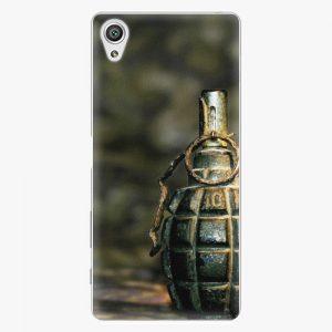 Plastový kryt iSaprio - Grenade - Sony Xperia X