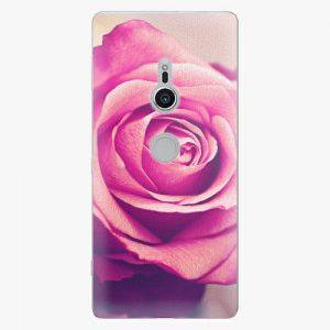 Plastový kryt iSaprio - Pink Rose - Sony Xperia XZ2