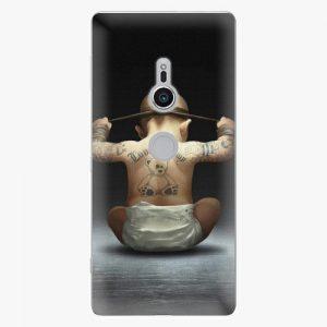 Plastový kryt iSaprio - Crazy Baby - Sony Xperia XZ2
