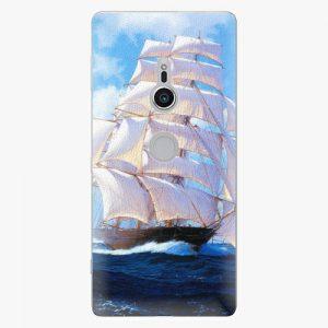 Plastový kryt iSaprio - Sailing Boat - Sony Xperia XZ2
