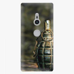 Plastový kryt iSaprio - Grenade - Sony Xperia XZ2