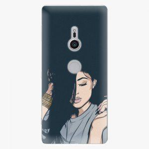 Plastový kryt iSaprio - Swag Girl - Sony Xperia XZ2