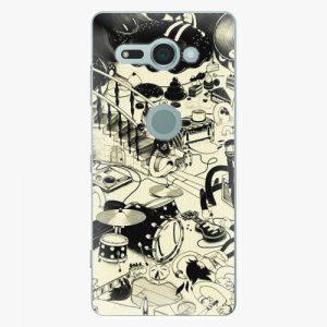 Plastový kryt iSaprio - Underground - Sony Xperia XZ2 Compact