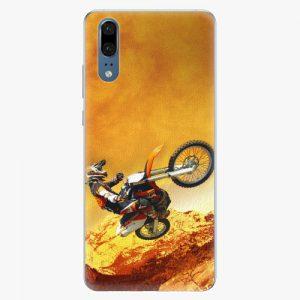 Plastový kryt iSaprio - Motocross - Huawei P20