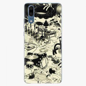 Plastový kryt iSaprio - Underground - Huawei P20