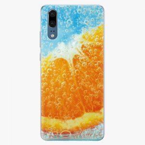 Plastový kryt iSaprio - Orange Water - Huawei P20