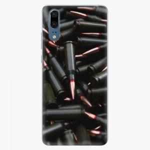 Plastový kryt iSaprio - Black Bullet - Huawei P20