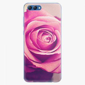 Plastový kryt iSaprio - Pink Rose - Huawei Honor View 10