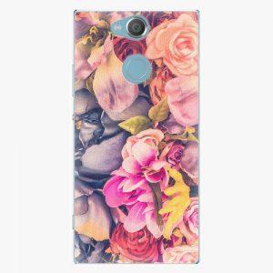 Plastový kryt iSaprio - Beauty Flowers - Sony Xperia XA2