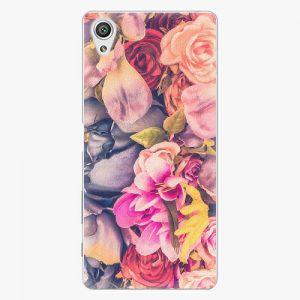 Plastový kryt iSaprio - Beauty Flowers - Sony Xperia X