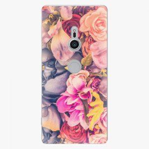 Plastový kryt iSaprio - Beauty Flowers - Sony Xperia XZ2