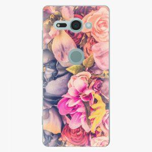 Plastový kryt iSaprio - Beauty Flowers - Sony Xperia XZ2 Compact