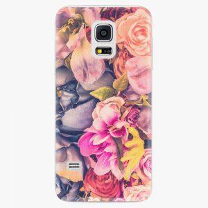 Plastový kryt iSaprio - Beauty Flowers - Samsung Galaxy S5 Mini