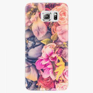 Plastový kryt iSaprio - Beauty Flowers - Samsung Galaxy S6 Edge