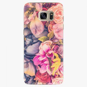 Plastový kryt iSaprio - Beauty Flowers - Samsung Galaxy S7 Edge