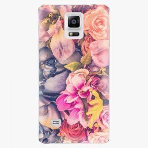 Plastový kryt iSaprio - Beauty Flowers - Samsung Galaxy Note 4