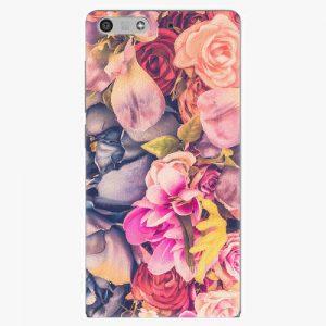 Plastový kryt iSaprio - Beauty Flowers - Huawei Ascend P7 Mini