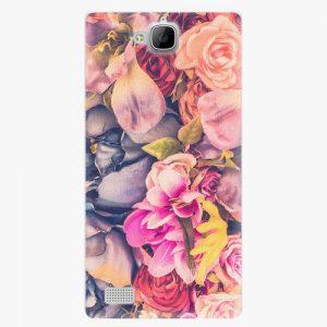 Plastový kryt iSaprio - Beauty Flowers - Huawei Honor 3C