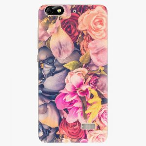Plastový kryt iSaprio - Beauty Flowers - Huawei Honor 4C