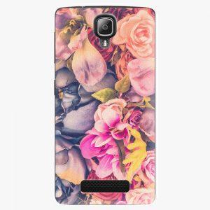 Plastový kryt iSaprio - Beauty Flowers - Lenovo A1000