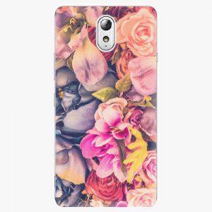 Plastový kryt iSaprio - Beauty Flowers - Lenovo P1m