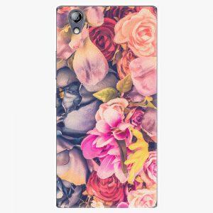 Plastový kryt iSaprio - Beauty Flowers - Lenovo P70