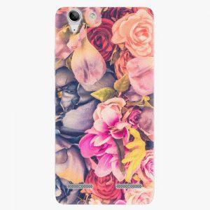 Plastový kryt iSaprio - Beauty Flowers - Lenovo Vibe K5