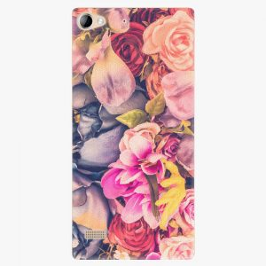 Plastový kryt iSaprio - Beauty Flowers - Lenovo Vibe X2
