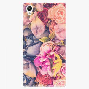 Plastový kryt iSaprio - Beauty Flowers - Sony Xperia Z1