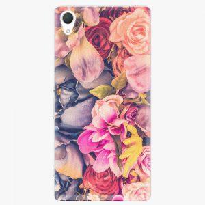Plastový kryt iSaprio - Beauty Flowers - Sony Xperia Z2