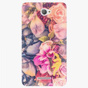 Plastový kryt iSaprio - Beauty Flowers - Sony Xperia E4